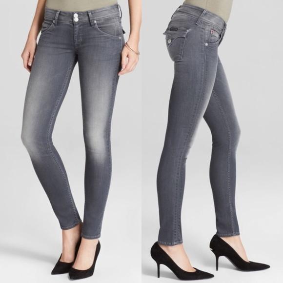 6d1ebf0b378 Hudson Jeans Denim - Hudson Collin Skinny Flap Pocket Grey Denim Jeans
